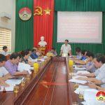 Đoàn cán bộ Sở GD&ĐT tỉnh về làm việc với huyện Đô Lương