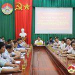 Đô Lương tham gia hội nghị trực tuyến với Sở Tài nguyên Môi trường
