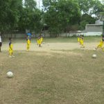 Đô Lương- Sôi nổi các lớp năng khiếu bóng đá