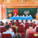 Đại biểu HĐND tỉnh và huyện tiếp xúc cử tri xã Mỹ Sơn
