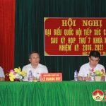Đô Lương: Đại biểu quốc hội tiếp xúc cử tri tại xã Bắc Sơn