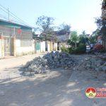 Người dân xã Yên Sơn bức xúc vì đường trở thành bãi rác thải