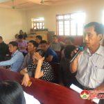 Đại biểu HĐND huyện tiếp xúc cử xã Giang Sơn Tây