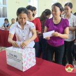 Sơ kết giữa nhiệm kỳ thực hiện Nghị quyết Đại hội Hội LHPN huyện nhiệm kỳ 2016- 2021