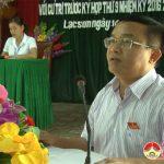 Đại biểu HĐND huyện tiếp xúc cử tri tại xã Lạc Sơn