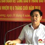 Ban đoàn kết công giáo Đô Lương: Sơ kết hoạt động 6 tháng đầu năm