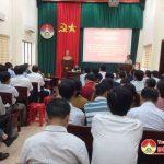 UBND huyện Đô Lương: Sơ kết công tác LĐTBXH 6 tháng đầu năm, triển khai nhiệm vụ 6 tháng cuối năm 2019.