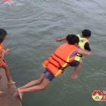 Nắng nóng: Đô Lương xuất hiện nhiều điểm tắm tự phát