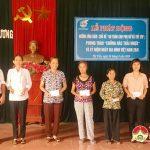 Hội phụ nữ Thị Trấn: Phát động hưởng ứng năm an toàn cho phụ nữ và trẻ em. Phong trào phòng chống rác thải nhựa, kỉ niệm ngày gia đình Việt Nam 28/6.