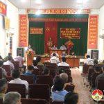 HĐND huyện tiếp xúc cử tri tại xã Xuân Sơn