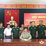 Ban Chỉ huy Quân sự huyện Đô Lương:  Sơ kết Cuộc vận động 50  giai đoạn 2015-2019