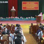 Huyện ủy Đô Lương quán triệt Nghị quyết TW 10, khóa XII