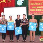 """Hội Liên hiệp Phụ nữ Đặng Sơn:  Tổ chức diễn đàn """" Phụ nữ và cuộc sống nhân ngày gia đình Việt Nam và phát động phong trào chống rác thải nhựa"""