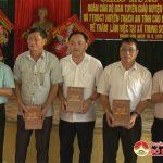 Trung tâm bồi dưỡng chính trị huyện Thạch An tỉnh Cao Bằng thăm và làm việc tại xã Trung Sơn.