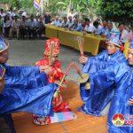Xã Thuận Sơn ( Đô Lương) tổ chức lễ hội đền Linh Kiếm.
