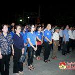 Lãnh đạo huyện dâng hương tại nghĩa trang Quốc tế Việt Lào huyện Anh Sơn