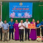 LĐLĐ Đô Lương: Bàn giao 7 phòng học trường mầm non Trù Sơn