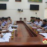 Ban chỉ huy phòng chống thiên tai và tìm kiếm cứu nạn tỉnh kiểm tra tại Đô Lương