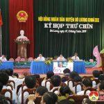 Kỳ họp thứ 9 HĐND huyện khoá XIX