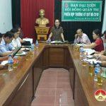 Đô Lương: Ban Đại diện Hội đồng Quản trị Ngân hàng Chính sách xã hội huyện tổ chức phiên họp thường kỳ quý III/2019