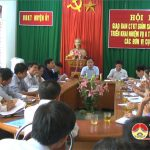 Đô Lương tổ chức hội nghị giao ban công tác kiểm tra giám sát