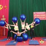 Đô Lương khai giảng lớp tập yoga cơ sở 2 tại trường tiểu học Thị trấn