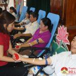 Đô Lương 700 người tham gia hiến máu tình nguyện đợt 3