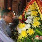 Huyện Đô Lương tổ chức dâng hương tại khu di tích lịch sử Truông Bồn.