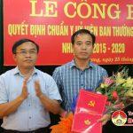 Đô Lương trao quyết định UVBTV Huyện uỷ