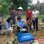 Hội Phụ nữ Đô Lương: Triển khai xây dựng mô hình hố rác thải tự phân hủy tại xã Ngọc Sơn.