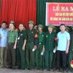 Đô Lương ra mắt câu lạc bộ: Cựu chiến binh với công tác đảm bảo an ninh trật tự