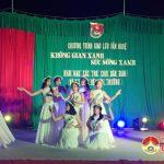 Đoàn xã Tràng Sơn: Tổ chức đêm gia lưu văn nghệ tuyên truyền về bảo vệ môi trường và khai mạc sân chơi cho thiếu nhi.