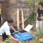 Hội Phụ nữ Đô Lương: Triển khai xây dựng mô hình hố phân loại, xử lí rác thải tại hộ gia đình.