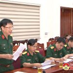 Đoàn kiểm tra Tỉnh ủy kiểm tra công tác quản lý, điều hành thực hiện nhiệm vụ quân sự, quốc phòng tại Đô Lương
