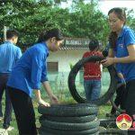 Tuổi trẻ Đô Lương – Chung tay xây dựng sân chơi cho trẻ em