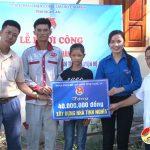 Huyện Đoàn Đô Lương trao 40 triệu đồng xây dựng nhà nhân ái tại Trù Sơn