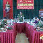 Xã Thái Sơn: Tổ chức diễn tập chiến đấu phòng thủ năm 2019