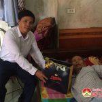 Đồng chí Lê Minh Giang: Thăm và tặng quà cho các gia đình chính sách, thương bệnh binh nhân ngày thương binh liệt sỹ 27/7