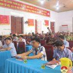 Đại biểu HĐND huyện tiếp xúc cử tri tại Thị Trấn