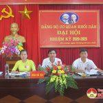 Đảng bộ cơ quan Khối Dân Đại hội nhiệm kỳ 2020-2025