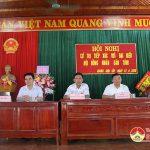 Đồng chí Ngọc Kim Nam – Ủy viên BTV tỉnh ủy, Trưởng ban Dân vận, Đại biểu HĐND tỉnh tiếp xúc cử tri xã Giang Sơn Tây