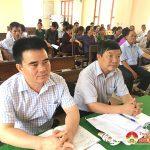 Đại biểu HĐND huyện tiếp xúc cử tri xã Nam Sơn