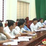 UBND huyện họp ban chỉ đạo triển khai kế hoạch hiến máu tình nguyện đợt 2 năm 2020