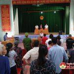 Xét xử lưu động tội tàng trữ trái phép chất ma tuý tại xã Yên Sơn