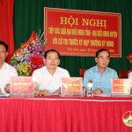 Đại biểu HĐND tỉnh và huyện tiếp xúc cử tri các xã vùng dưới huyện Đô Lương