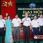 Đảng bộ cơ quan chính quyền huyện tổ chức đại hội nhiệm kỳ 2020-2025