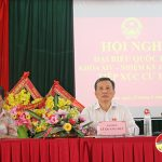 Ông Lê Quang Huy –Đại biểu QH tiếp xúc cử tri tại Đô Lương
