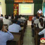 Đô Lương: Tập huấn nghiệp vụ tuyên truyền các bộ luật và văn bản quy phạm pháp luật năm 2020.