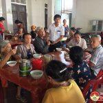 Hội Nông dân xã Tân Sơn: Trao tặng 200 bát cháo tình thương cho bệnh nhân tại bệnh viện đa khoa huyện Đô Lương.