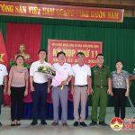 Xã Văn Sơn  họp HĐND bất thường bầu một số chức danh chủ chốt
